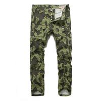camouflage hosen männer schlank großhandel-Jogginghose für Herren Jogginghose für Herren Jogginghose für Herren Neue Camouflage-bedruckte M-Jeans für Herren Slim-wash-Jeans für Herren jm005
