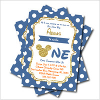 Wholesale baby shower supplies free shipping for sale - Group buy 14 Personalized Birthday invitations Baby Shower Invites Boy Birthday party decoration supply
