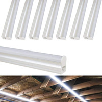 Wholesale light fluorescent ceiling fixture online - LED T5 Integrated Single Fixture FT FT FT LED Replace Fluorescent Tube Utility Shop Light Ceiling Under Cabinet Light