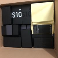 klare fensterscheiben groihandel-OEM-Qualität US / EU Version neue Telefon-Verpackungs-Kasten-Paket-Kästen für Samsung s10 s10 und S10e mit Zubehör