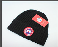 Wholesale sailor cap sale for sale - Group buy Hot Sale CANADA brand BEANIE men Women knitted hat classical sports skull caps women casual outdoor GOOSE beanies High Quality