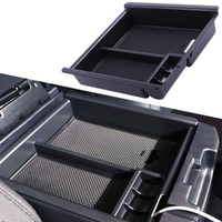 Wholesale armrest tray for sale - Group buy Tacoma Center Console Organizer Insert ABS Black Materials Tray Armrest Box Secondary Storage
