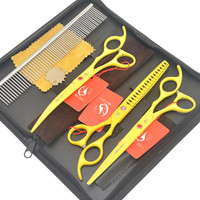 Wholesale thinning scissor curved resale online - Meisha quot Down Curved Pet Cutting Shears Steel Japan c Thinning Scissors for Dog Grooming Puppy Trimmer Suppliers HB0200