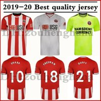 Wholesale united soccer jerseys resale online - 2019 Sheffield United CLARKE soccer jerseys home SHARP Football shirt BALDOCK FREEMAN DUFFY maillots de foot