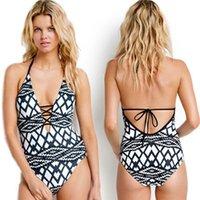 einteiliger badeanzug sport großhandel-Frauen Bademode Badeanzug Einteilige Anzüge Monokini Sexy Push Up Badeanzug Badeanzüge Für Dame Sommer Badeanzug Sport