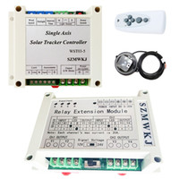 Wholesale single relay module resale online - Electronic Controller Relay Extension Module for Single Axis Solar Panel Tracker