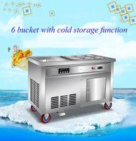 eiscreme chinesisch großhandel-Best selling Chinese Thai gebratener Joghurt-Maschine Pfanne gebraten Eismaschine Eiswürfelschale Maschine
