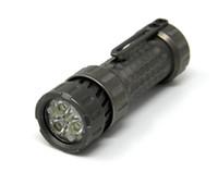 lampe de poche led cuivre achat en gros de-Mechforce - Lampe de poche / torche personnalisées EDC haut de gamme Mechtorch, titane Stonewash