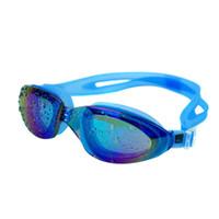 очки для плавательных очков оптовых-Adjustable Adult Reusable Anti Fog UV Swim Swimming Glasses Goggles Outdoor H5