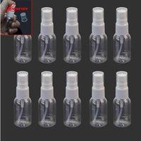 ingrosso pompa vuota di plastica spray-10pcs Trasparente 30ml Vuoto Bottiglia Spray Viaggi Portatile di plastica del profumo Bottiglia di atomizzatore Bottiglie di spruzzo Bottiglia riutilizzabile di trucco