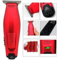 Wholesale haircut hair resale online - Kemei KM Professional Hair Clipper Cordless mm Baldheaded Hair Beard Trimmer Modelling DIY Hair Cutter Haircut Machine