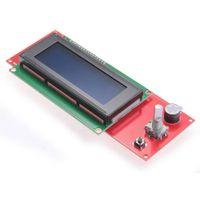 зеркальный фотоаппарат оптовых-LCD display 2004 Smart Controller RepRap Ramps V1.4 3D Printer NEW