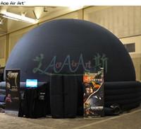 inflatable tents for sale 도매-판매를위한 고품질 풍선 천문관 프로젝션 돔 텐트는 중국에서 만든