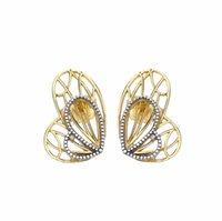 bijoux à papillon achat en gros de-2019 printemps boucles d'oreilles en argent Sterling 925 ailes de papillon boucles d'oreilles pour les femmes Style Européen Bijoux Original Mode