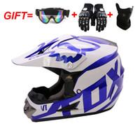 Wholesale dot racing helmets for sale - Group buy 3 gift motorcycle helmet mens moto bicycle helmet capacete motocross off road DOT ATV Dirt bike Downhill MTB DH racing