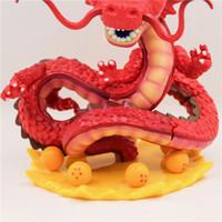 ingrosso decorazioni di drago rosso-Dragon Ball Son Goku Comics Super Saiyan Dragon Ball Dio Drago Mano rossa Giocattolo modello Doll Cake Decoration Car Decor