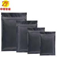 Wholesale manufacturer samples for sale - Group buy Manufacturer center black zipper bag snacks aluminum foil sealed bag tea powder small sample packaging bags custom