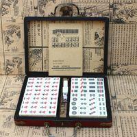 ingrosso miniature cinesi-Mahjong cinese in miniatura - Portable Travel Hostel Mah-Jong - con brochure inglesi