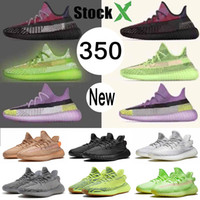 Wholesale soccer shoes brands for sale - Group buy Top Brand M Reflective Glow Yereel Yeshaya Yecheil Mens Women Running Shoes White Zebra Sesame Static black off Trainers sneaker size