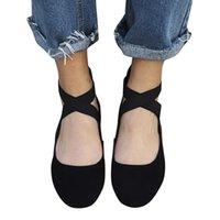 ingrosso piattaforme di balletto-Scarpe eleganti di design Youyedian Piattaforma comoda Piattaforma ricamata con zeppa Donna Balletto morbido # **
