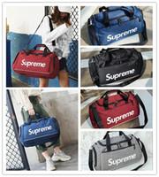 Wholesale outdoor gym bag resale online - Su pre me Designer Luxury Handbags Boy Girls Shoulder Bag Outdoors Duffel Bag Casual Exercise Gym Yoga Travel Luggage Bags