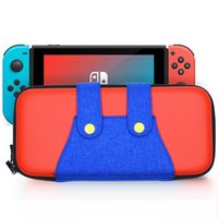 Wholesale console shells resale online - EVA Portable Hard Shell Case bag for Nintend Switch Nintendos Switch lite Console Durable Nitendo Case for NS Accessorie
