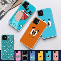 Wholesale amazing phones for sale - Group buy 2020 Amazing World Gumball TPU Soft Phone Case for iPhone pro XS MAX S Plus X S SE XR cover