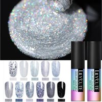 Wholesale yellow gold nails for sale - Group buy LILYCUTE Color Series Gel Nail Polish Pink Glitter Nail Art UV LED Soak off Gel Lacquer Varnish Semi Permanent