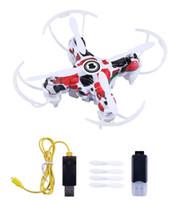 ingrosso telecamera remota telecamera a elicottero-2.4G Mini RC Quadcopter Drone Camera HD Video RTF Quadcopter Droni Elicottero Telecomando E905 Aereo Novità Giocattoli GGA1418