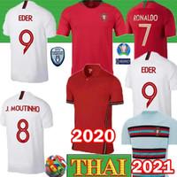 takımlar için futbol formaları toptan satış-RONALDO NANI futbol forması Portekiz Güney Afrika Dünya Kupası forması erkekler Retro formalarını Retro Tay Portekiz milli takım
