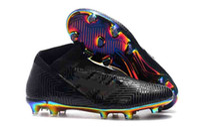 Wholesale massage bandage resale online - New Nemeziz FG Messi Soccer Mens x Football Shoes Agility Bandage Spectral Mode Soccer Boots Cleats Size US6