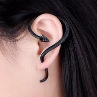 Wholesale silver ear jacket for sale - Group buy 1Pcs Fashion Jewelry Earrings Punk Snake Long Ear Cuff Earring Jackets For Women And Men Gift