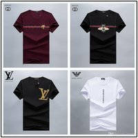 t-shirt méduse achat en gros de-Vente chaude PP De Luxe Hommes T Shirt D'été Concepteur Tops Tees À Manches Courtes T Shirts Hip Hop T-Shirt De La Mode Homme Tshirt Medusa Tshirt