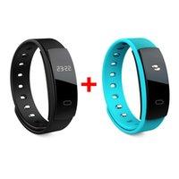 ingrosso orologi di attività wireless-2PCS IP67 Fitness Wireless Smart Activity Tracker Wristband della pressione sanguigna Monitor della frequenza cardiaca Bracciale Sport Watch
