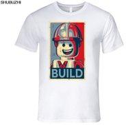 * EVOLUTION OF LEGO T-Shirt Mens retro big bang theory Novelty gift toy *