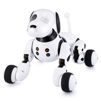 Wholesale talking dogs for sale - Group buy Robot Dog Electronic Pet Intelligent Dog Robot Toy Smart Wireless Talking Remote Control Kids Gift For Birthday
