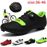 Wholesale bicycling shoes resale online - Top Quality Road Cycling Shoes Men Bicycle Mountain Shoes MTB Mountain Cycle Sneaker Racing Trainers