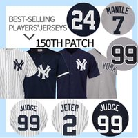 ingrosso babe xxl-99 Maglia Aaron Judge Yankees 42 Mariano Rivera 23 Don Mattingly 3 Babe Ruth 51 Bernie Williams