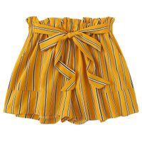 chicas coreanas de verano pantalones cortos al por mayor-Pantalones cortos para mujer Pantalones cortos para el verano de 2019 Estilo coreano Mujer Corto Femme Chica Vendaje Casual Pantalones Mujer pantalones cortos mujer