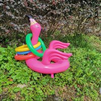 Wholesale game hats resale online - Children Flamingo Ferrule Hat Throw Interaction Hats Eco Friendly Popular Games Cap Opp Package Sell Well gd J1