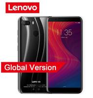 Wholesale lenovo 4g android resale online - Lenovo A5 Smartphone MTK6739 Quad Core GB RAM GB ROM Full Screen Fingerprint G LTE Cellphone mAh Mobile Phone