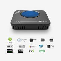 google fernbedienung fernbedienung großhandel-Mecool M8S Max TV-Box Amlogic S912 3 GB RAM 32 GB ROM 5G WIFI Bluetooth 4.0 Android 4K VP9 H.265 TV-Box mit Fernbedienung