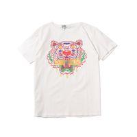 Wholesale print t shirts for girls for sale - Group buy Summer Brand Designer Men T Shirt For Girls Tshirt Short Sleeves Shirts Luxury Fishion Designer Tiger Print top Tees H