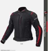 Wholesale motorcycle mesh jacket for sale - Group buy FOR KOMINE JK high quality mesh cloth racing suits motorcycle jacket distribution sets of protective gear red