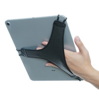 Wholesale security pro for sale - Group buy TFY Hand Strap Holder Security Finger Grip with Soft PU Tablet Accessories for iPad Pro inch and More Black