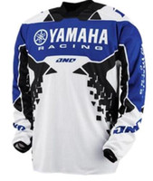 Wholesale team sky cycling jersey blue resale online - 2019 MOTO GP Motorcycle Riding Team Riding Jersey Sports Bicycle Cycling Bike FIT FOR YAMAHA JERSEY Moto downhill Jerseys G