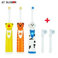 Wholesale uses toothbrush resale online - At Fashion Oral Hygiene children electric toothbrush rechargeable heads kids electric toothbrush battery use for Teeth Care C18112601