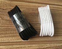ladekabel großhandel-100 teile / los 1: 1 Original 1,2 mt 2A USB Typ C Kabel Schnellladung Datenkabel Schnellladekabel für Samsung S8 s9 note 7 S10