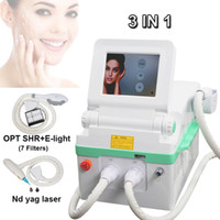 Wholesale anti wrinkle hair removal for sale - Group buy ipl machines opt shr hair removal laser elight anti wrinkle treatment nd yag tattoo laser removal machine