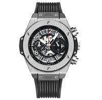 lüks saatler kauçuk kemer toptan satış-Yeni Lüks Erkekler İzle İskelet Su Geçirmez Kauçuk kemer Otomatik mekanik saatler Moda Spor Erkek saatler reloj